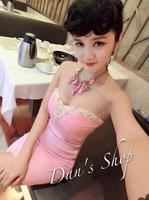 vestidos saias femininas 2014 tally weijl sexy candy color belt pad slim tube top one-piece dress