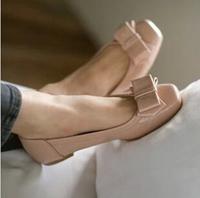 2014 Autumn Casual Plus Big Size 35 - 42 Women Ladies Flats Boat Ballet Shoes Ballerina Moccasins Slip On Nude Black White