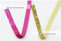 100 yards Clothing stage 2cm width color ribbon belt swan flannelette marriage room decorative shiny ribbon ribbon flocking belt