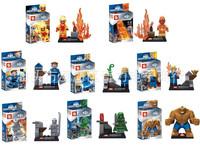 480pcs/lot FANTASTIC FOUR 4 SY167 Thing Building Bricks Blocks Sets Marvel Figures Minifigure
