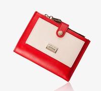 wallets 2014!Free shipping gentlewoman wallet fashion ladies wallet,women's purse,clutch bags short style 4 colors L05