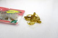 Small Linlu Ya-tailed drongo soft bait maggots 6 cm 20 / pack soft insects freshwater bass fishing ALBURNUS blackfish