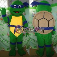 Free Shiping Customized Teenage Mutant Ninja Turtles Mascot Costume Ninja Turtles Mascot