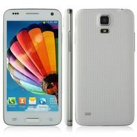 New Star W800 4.5'' Mini S5 I9600 MTK6582 Quad Core 1GB RAM 4GB ROM Android 4.2 1.3GHz  3G WCDMA Smart phone WiFi GPS