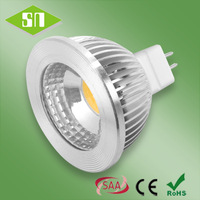 CE ROHS SAA approved 12v dimmable 5w high lumen mr16 led spot light