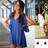 2014 New Women Casual Tops Loose Chiffon Shirt Summer Candy Color Puff  Femininas  Long Sleeve Chiffon Blouse Plus Size lyq130