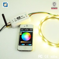 WIFI Single color LED Strip Controller Dimmer For Iphone Android Mobile Phone 2.3-4.3 IOS 4.3-6.1 system DC7.5-24V 3 Channel