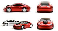 MIni 2.4G 3D wireless car optical computer laptop mouse para usb receiver jogos steelseries Band new raton inalambrico car mouse