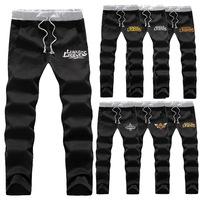 Men's Cosplay Anime Sweat Pants Training Dance Yoga Jogging Trousers Pants