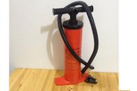 SUPER 50cm double action inflation pump, deflation pump, hand inflation pump, 3 nozzles to fit