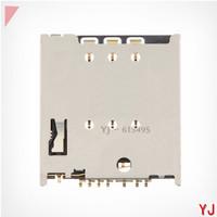 2 pcs/lot Original New Sim Card Reader Holder Socket Slot For Motorola MOTO G XT1032 XT1033 XT1035