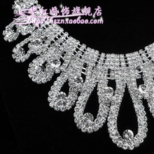 The wedding necklace female marriage act the role of the bride suits the bride deserve to