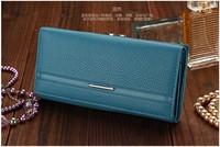 2014 Hot Wallet Women Wallets,New Fashion Solid Female Wallet Women Clutch Change Purses Carteira Feminina Women Purse N1210-1
