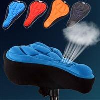 1pcs Rockbros thick Cycling Bicycle Gel Pad Seat Saddle Cover Black Soft Cushion
