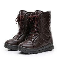 2014 NEW Smart Motorcycles Boot for Lady and Women snow boot & Black, Brown
