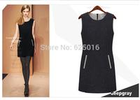 women autumn winter dress 2014 fashion new plus size casual dress black Slim Bandage vestidos dresses sexy Party Bodycon Dress