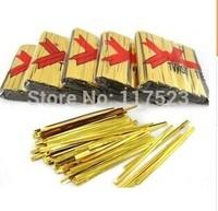 800x 12cm Metallic Twist Ties For Cake gift Pops Kit Sealing Cello Bags Lollipops Pack