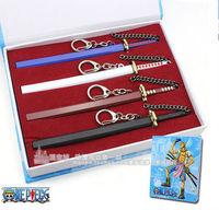 Anime One Piece  Zorro   Roronoa Zoro a ghost word snow ropewalking long four knife set