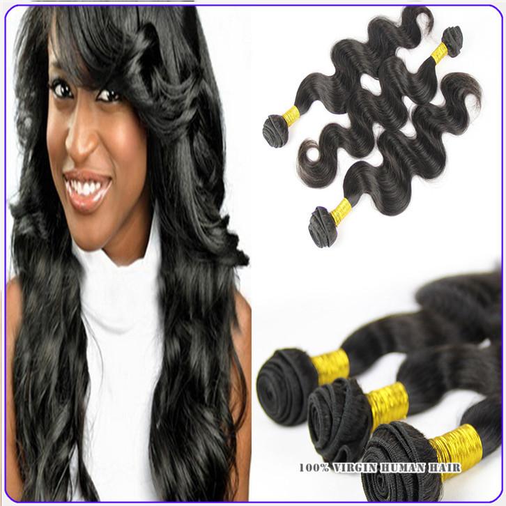 "human hair bundles brazilian virgin hair gaga hair vip beauty body wave grade 7a 3pcs lot mixed 12""-26"" premium now fashion remy(China (Mainland))"