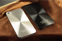 Free shipping ! New  Fashion Brand CD Skin Metal Aluminum Case for iPhone5 Cover Shell Mobile Phone