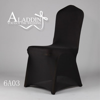 hot sale polyester/spandex fabric plain style universal lycra spandex chair cover for wedding event & party chair decoration