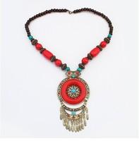 Fashion personality ethnic characteristics  necklace+ Free shipping#110265