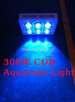 300W G 6*50W COB LED  Aquarium Light  15000K+440NM  High PAR (Royal Blue Led,) reef tank /reef coral light  2 years Warranty