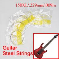 Brand New Set of Electric Guitar Strings 6 Steel Strings 1 Meter XL150 V3NF