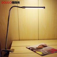 USB desk lamp 5V clip bedside book lights led bathroom mirror lamp dimmable 10w Stepless adjusted