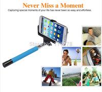 Wireless Bluetooth mobile phone monopod Self-timer Rotary Extendable Handheld Camera Tripod