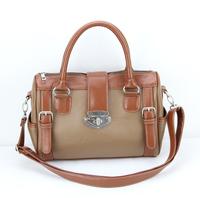 H004(brown) Korean fashion handbags ,Free shipping