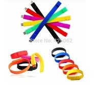 32G 64GB Colors Bracelet USB Flash Drive,Flash Memory USB Flash Disk,Pen Drive ,Promotion gift- Free Shipping