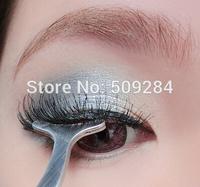 False Eyelashes Curling Curler Furl Fake Eye lash Auxiliary Clip Multifunctional Stainless Cosmetics Beauty Tweezers Tool