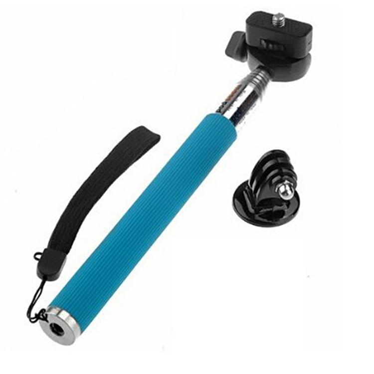 go pro tripod tripe adapter extendable handheld selfie stick monopod for gopr. Black Bedroom Furniture Sets. Home Design Ideas