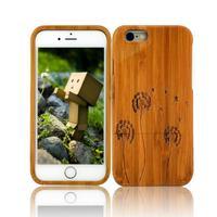 100% Wood Case For iPhone6 wood Case For iPhone6 back cases 4.7inch back cases for iPhone6 1Pcs Free shipping