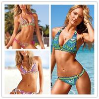 New sexy two-piece separate triangle bikini bikinis set women swimwear
