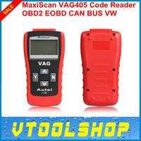 Top 2014 Super  VAG 405 for Volkswagen/A0d1/Seat/Skoda/Jetta/Golf/Beetle/Touareg/GTI/Passat MaxScan VAG 405 OBD2 code reader