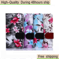 High Quality Flower Wallet Flip Leather Back Case Cover For Sony Xperia Z3 Free Shipping China Post Air Mail
