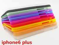 Free Shipping!100pcs 5.5 inch 0.3mm Ultra Thin Frosted Hard Case for iPhone 6 Plus Slim Matte Transparent Cover for iphone6 Plus