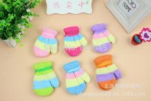 Gift,children high quality autumn winter outdoor warm women touch kids knited gloves half / full finger mitten1pair=2pcs GW58