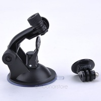 Hot ! GoPro Car Suction Cup Adapter Window Glass Tripod  Gopro Hero 3+ 3 2 1 Camera Go Pro accessories BSY0033