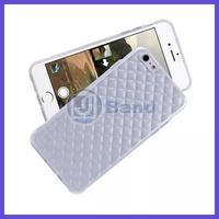 100pcs/lot For iPhone 6 plus 5.5 inch High quality Transparent masonry soft TPU case