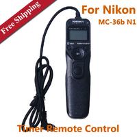 Yongnuo MC-36b N1 SLR Cameras Timer Remote Control Shutter Release Cable For Nikon D700 D300s D800E D810 D3 D4