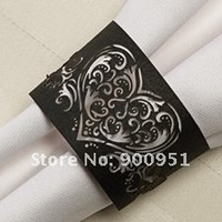 luxury paper napkin ring for wedding dinner party