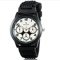 V6 0217 Super Speed women's watch casual watch 3-Dial Analog Wrist Watch brand sports Watch -5