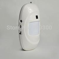 Wireless Wide Lens 9V 433mhz Passive Infrared PIR Motion Sensor Detector Alarm KR-P816 for Home Anti-Theft Burglar Alarm System