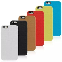 Honeycomb Design TPU Phone Case For Iphone 6/6 plus 4.7inch/5.5inch Soft Cover For iphone cases 6 colors