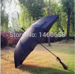 Long handle straight rod creative super realistic rifle umbrella(China (Mainland))