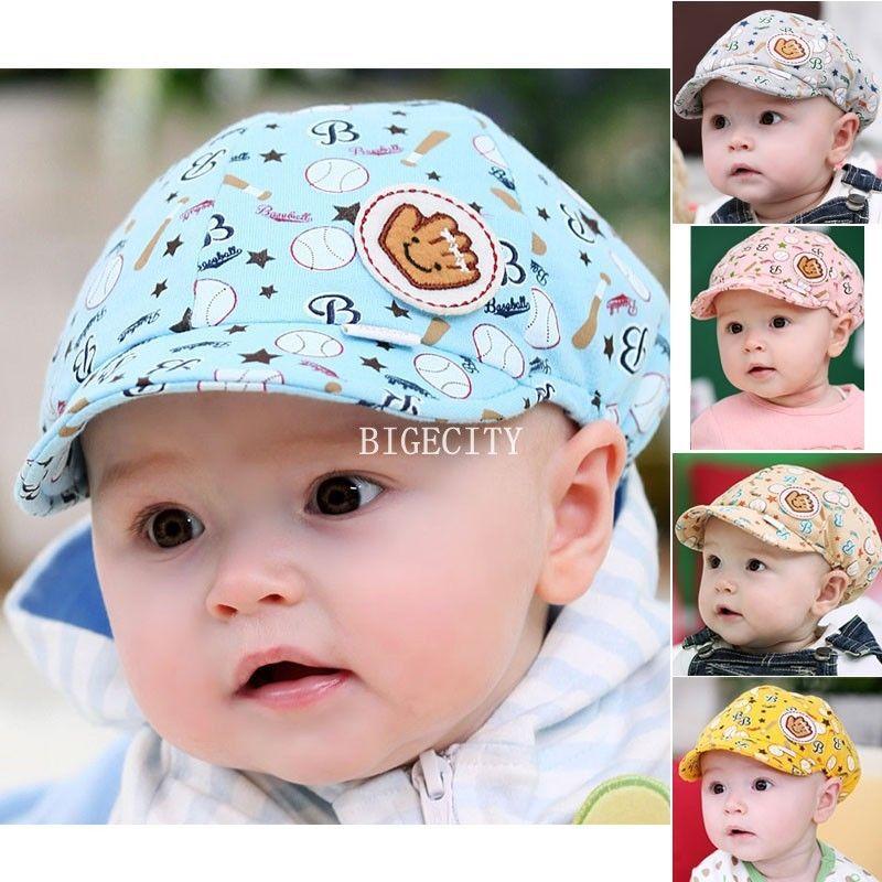 2015 Fashion New New Baby Kids Toodler Boy Girl Girls Cotton Hat Sun Baseball Cute Cap 5 Colors(China (Mainland))