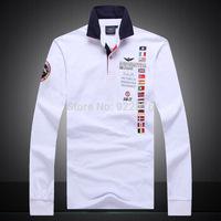 High quality 2015 aeronautica militare men's long sleeve t shirt hot sale men air force one long sleeve tshirt men's clothing